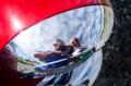 1956_Buick_Special_Pre_Restoration_Headlight_Bezel_Reflection